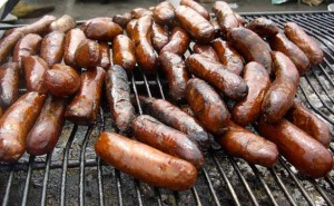 BBQ Sausages Yorkshire