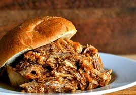 Pulled Pork sandwich Yorkshire